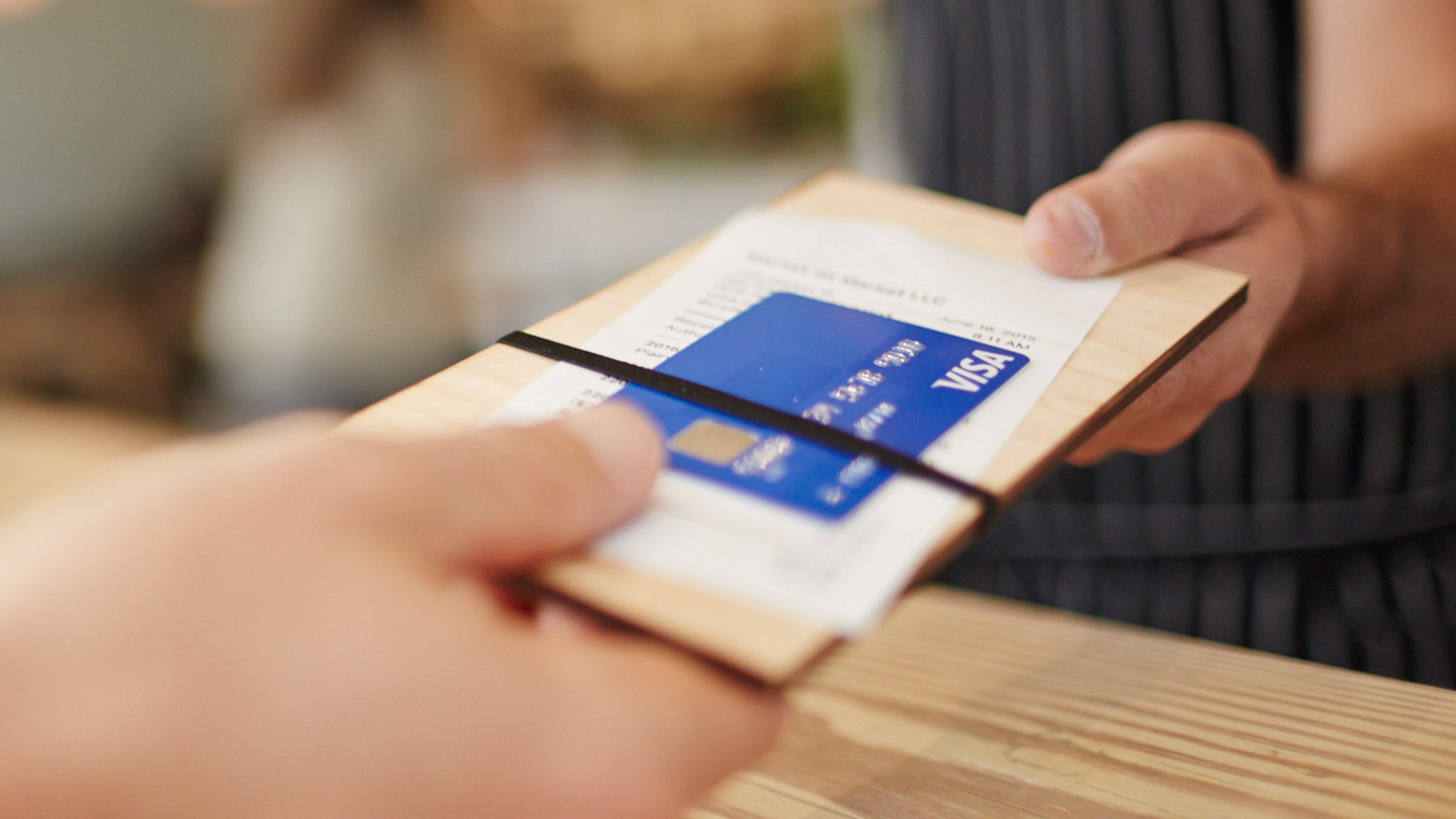 Paying with Visa