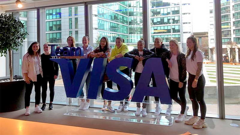 Team Visa European summit